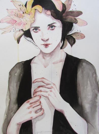 SHY|IlustracióndeJaume Mora| Compra arte en Flecha.es