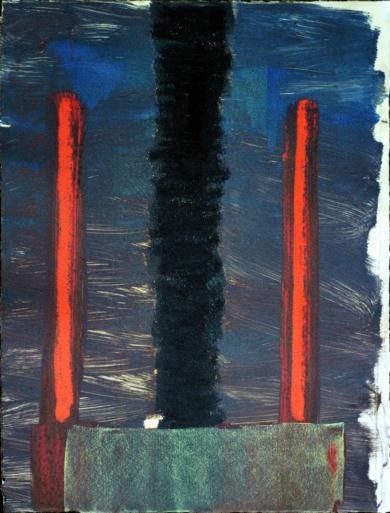 Puertas a ninguna parte III|PinturadeJacinto Lara| Compra arte en Flecha.es