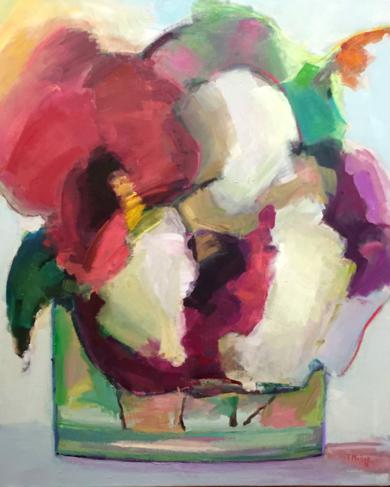 Lugares y Jardines Imaginarios V|PinturadeTeresa Muñoz| Compra arte en Flecha.es