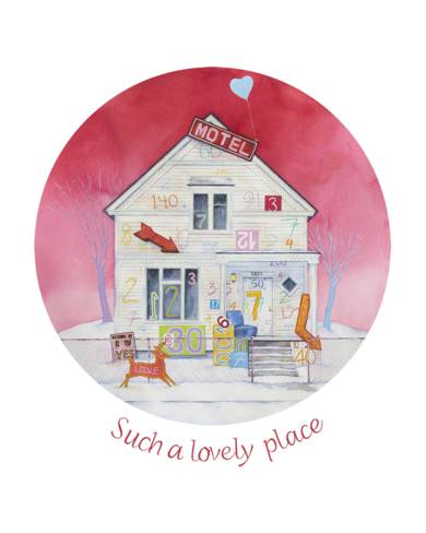 Such a Lovely Place|DibujodeRosa Alamo| Compra arte en Flecha.es