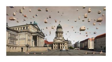 Berlin (Gendarmenmarkt)|DigitaldePaco Díaz| Compra arte en Flecha.es