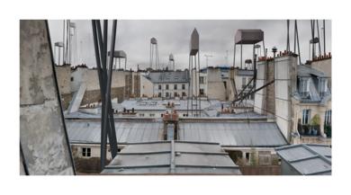 Paris (mansardes)|DigitaldePaco Díaz| Compra arte en Flecha.es