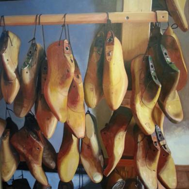 Historia de un zapato inglés|PinturadePaloma Porrero de Chávarri| Compra arte en Flecha.es