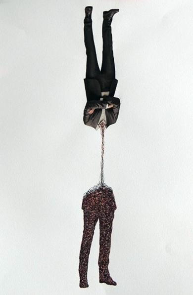 YA NO TE ESPERO|CollagedeMerche Chia| Compra arte en Flecha.es