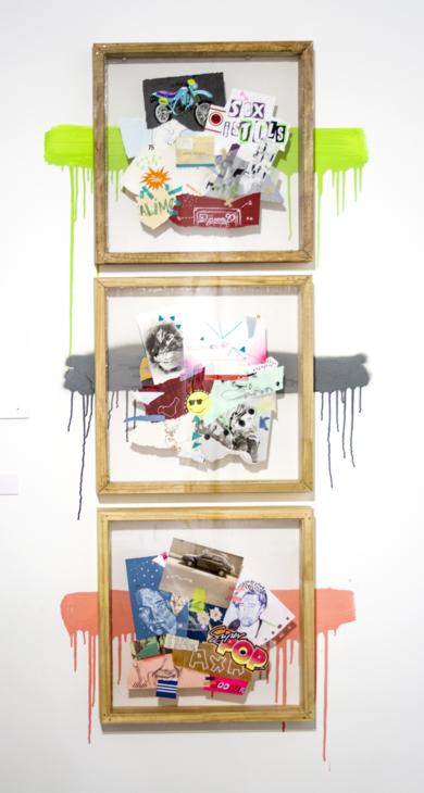 Folders|CollagedeAlejandra de la Torre| Compra arte en Flecha.es
