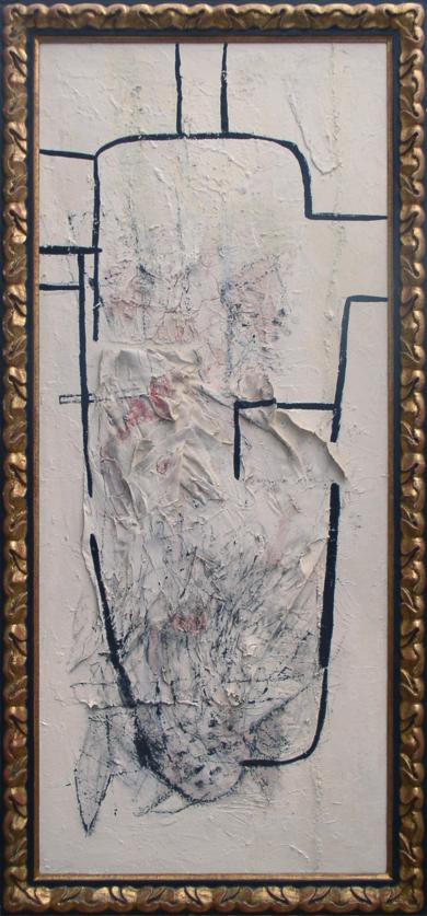 Una figura para Torres García|CollagedeRaul Eberhard| Compra arte en Flecha.es