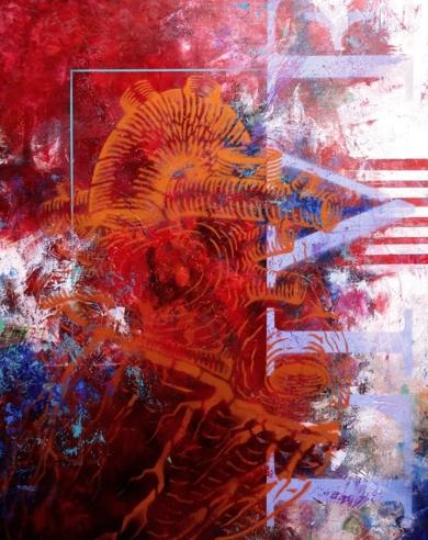 Corazón de Artista|PinturadeGossediletto| Compra arte en Flecha.es