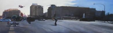 Ficción Urbana V PinturadeErick Miraval  Compra arte en Flecha.es