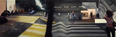 Ficción Urbana III PinturadeErick Miraval  Compra arte en Flecha.es
