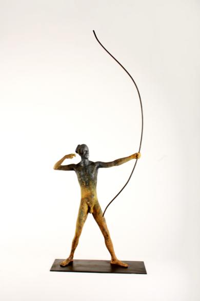 ARQUERO|EsculturadeJavier de la Rosa| Compra arte en Flecha.es