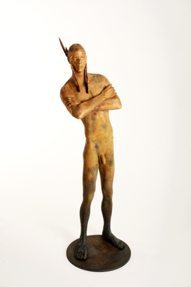FREE MAN|EsculturadeJavier de la Rosa| Compra arte en Flecha.es