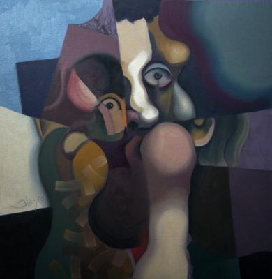 Head IV|IlustracióndeCarlos Blanco Artero| Compra arte en Flecha.es
