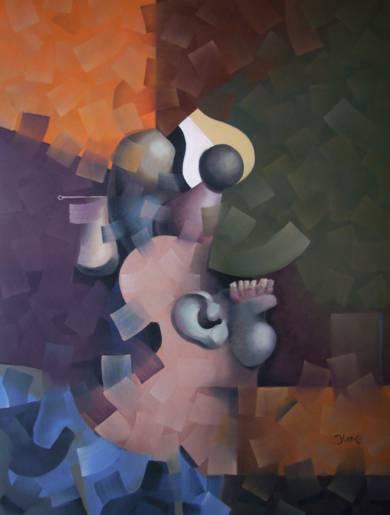 Perfil de mujer|IlustracióndeCarlos Blanco Artero| Compra arte en Flecha.es