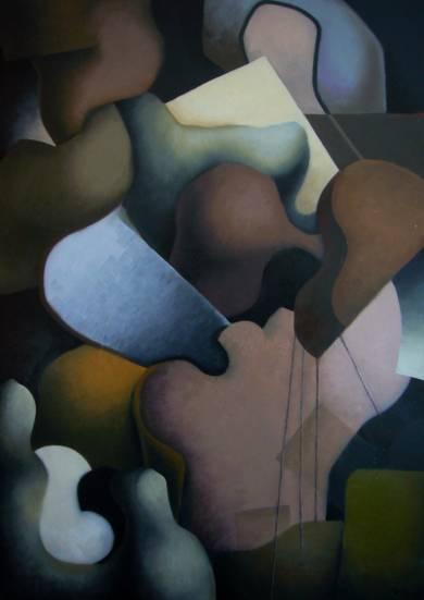 Violinista|Escultura de pareddeCarlos Blanco Artero| Compra arte en Flecha.es