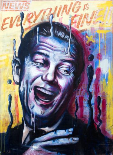 Everything is Fine|PinturadeSr. X| Compra arte en Flecha.es