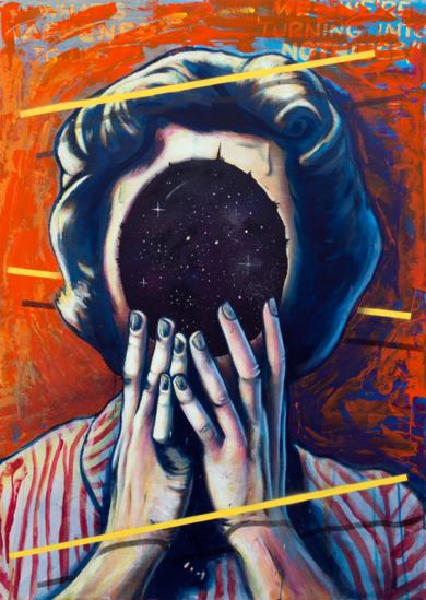 The Void|PinturadeSr. X| Compra arte en Flecha.es