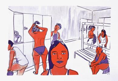CAMPO DE BATALLA|IlustracióndeMar Estrama| Compra arte en Flecha.es