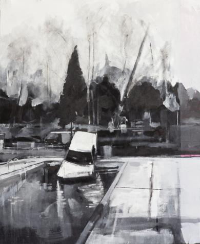 """""""S/T"""" PinturadeGuillermo Moreno  Compra arte en Flecha.es"""