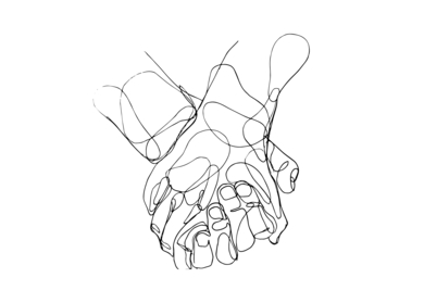 Manos II|DibujodeTaquen| Compra arte en Flecha.es