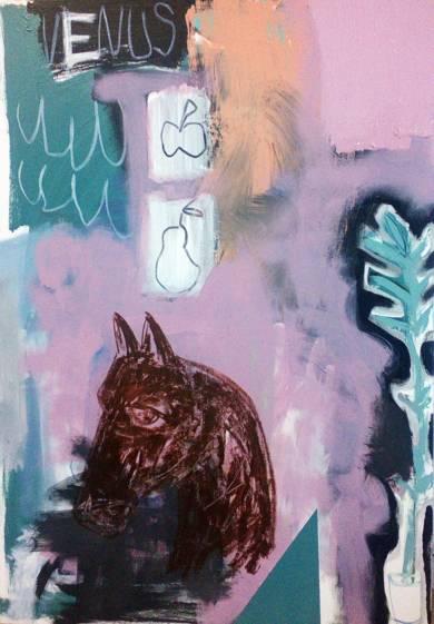 Venus and Her Horse|PinturadeAlmudena  Blanco| Compra arte en Flecha.es