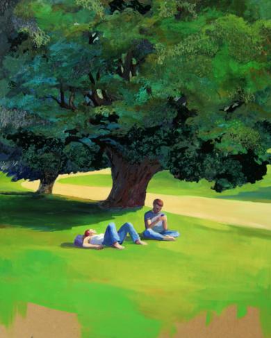 Hora de  descanso|PinturadeCarmen Montero| Compra arte en Flecha.es