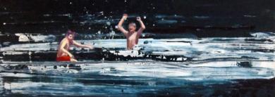 Juegos acuátcos|PinturadeCarmen Montero| Compra arte en Flecha.es
