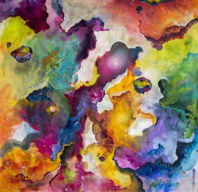 Cenotes|Obra gráficadeMisterpiro| Compra arte en Flecha.es