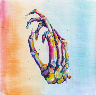 One hand|Obra gráficadeMisterpiro| Compra arte en Flecha.es