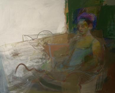 La espera II|PinturadeMaría Argüelles| Compra arte en Flecha.es