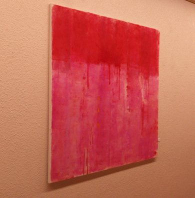 Rose field PinturadeLuis Medina  Compra arte en Flecha.es
