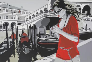 Venice Story|Obra gráficadeSilvia Papas| Compra arte en Flecha.es