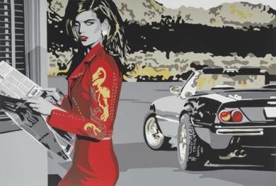 Easy driver|Obra gráficadeSilvia Papas| Compra arte en Flecha.es