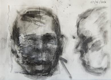 Abuelo Eusebio|CollagedeRodrigo Flechoso Fernández| Compra arte en Flecha.es