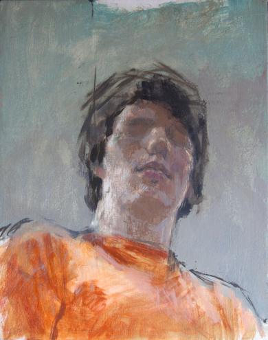 Autorretrato|PinturadeRodrigo Flechoso Fernández| Compra arte en Flecha.es