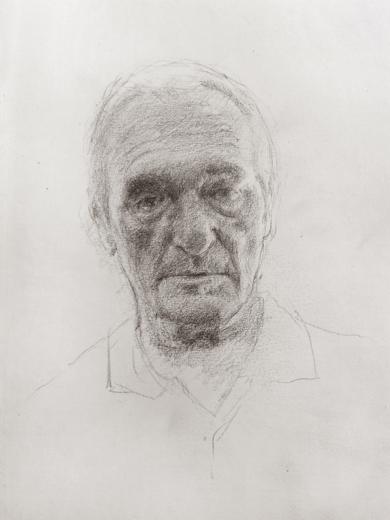 Pedro|DibujodeRodrigo Flechoso Fernández| Compra arte en Flecha.es