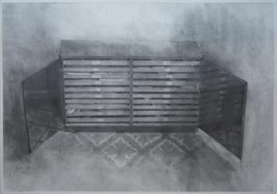 El estudio: Puertas Abiertas|DibujodeAdrián Sánchez Encabo| Compra arte en Flecha.es