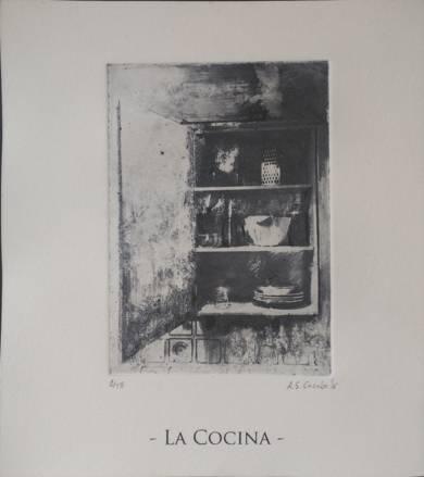 La cocina|DibujodeAdrián Sánchez Encabo| Compra arte en Flecha.es