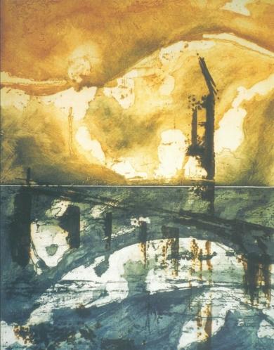 Línea del horizonte|Obra gráficadeCarmina Palencia| Compra arte en Flecha.es