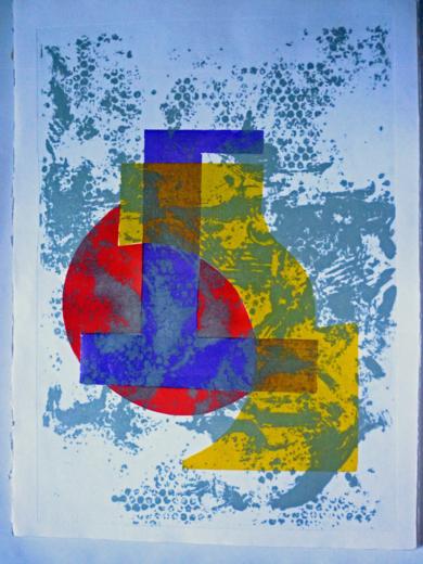 Abstracción|Obra gráficadeCarmina Palencia| Compra arte en Flecha.es