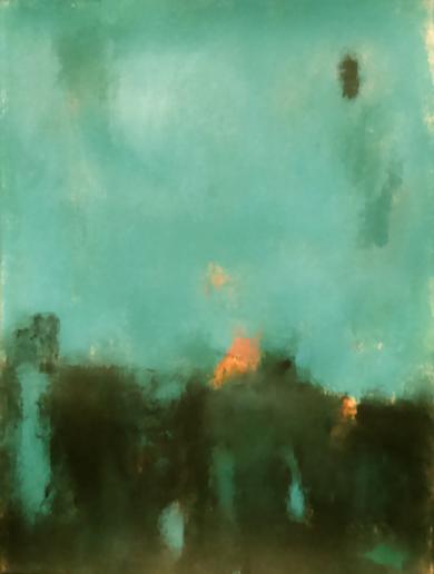 Emerald field|PinturadeLuis Medina| Compra arte en Flecha.es