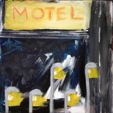 Motel|PinturadeJosemi Campaña| Compra arte en Flecha.es