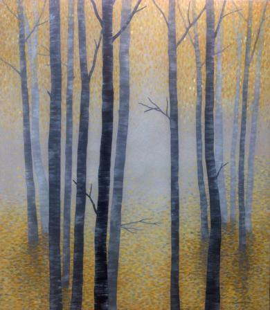 Arboles en otoño|PinturadeCharlotte Adde| Compra arte en Flecha.es