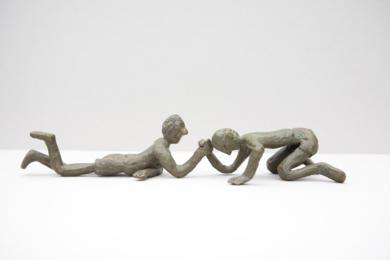 El pulso|EsculturadeAna Valenciano| Compra arte en Flecha.es