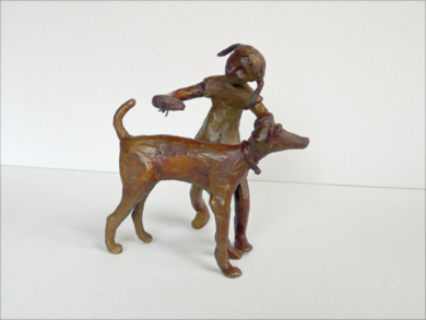 Te voy a peinar|EsculturadeAna Valenciano| Compra arte en Flecha.es