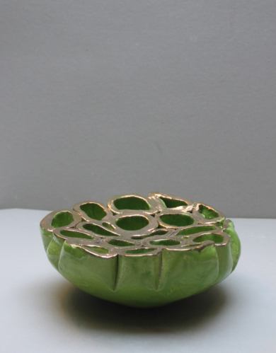 centro oro|EsculturadeLina Cofán| Compra arte en Flecha.es