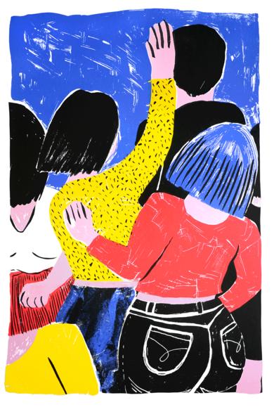 VOLUMEN|IlustracióndeMar Estrama| Compra arte en Flecha.es