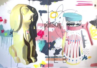 Herencias #1|PinturadeAlejandra de la Torre| Compra arte en Flecha.es