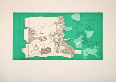 Bambino Pipistrelli|Obra gráficadeJorge Castillo| Compra arte en Flecha.es