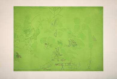 Siluetas|Obra gráficadeJorge Castillo| Compra arte en Flecha.es