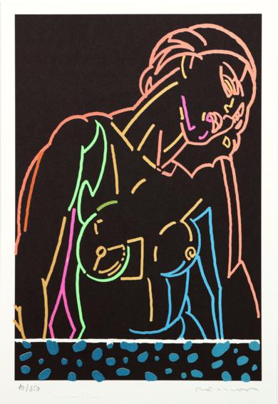 Chica|Obra gráficadeFernando Bellver| Compra arte en Flecha.es